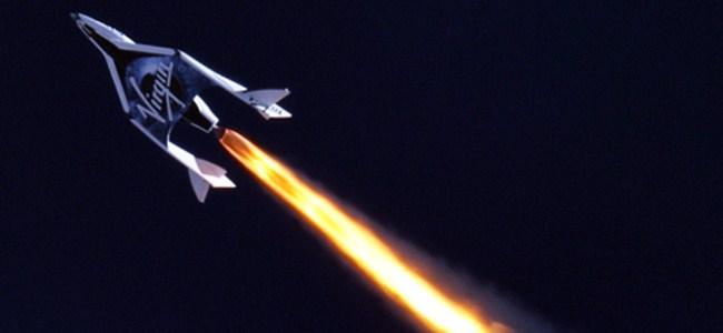 Virgin Galactic ilk uçuşunu gerçekleştirdi
