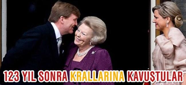 Hollanda'da Yeni Kral Tahta Geçti