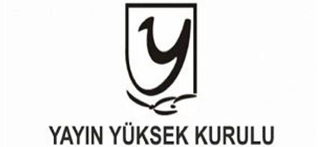 YYK, İki Kanala Uyarı Bir Kanala Para Cezası