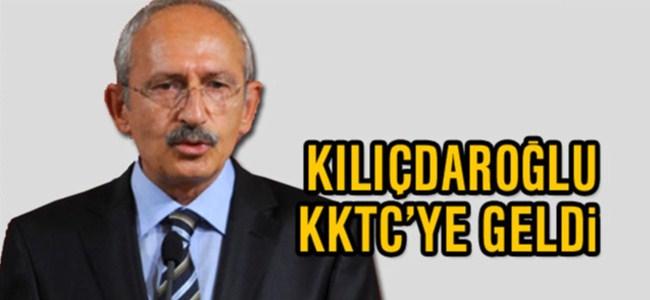Kılıçdaroğlu KKTC'ye geldi