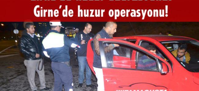 Polis Girne'de kuş uçurtmadı