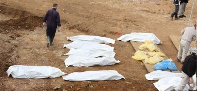 Irak'ta sel sularının altından toplu mezar çıktı