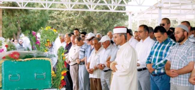 Mustafa Cemal Alp, toprağa verildi