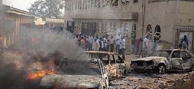 Nijerya'da kiliseye saldırı: 10 ölü