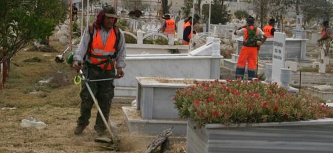 Lefkoşa Mezarlığı'nda Anneler Günü İçin Çalışma var