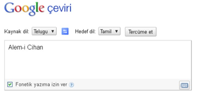 Google Translate 5 Dil Daha Eklendi