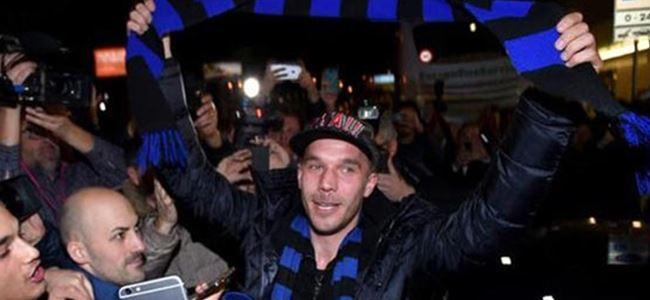 Ve Podolski resmen Inter'de!