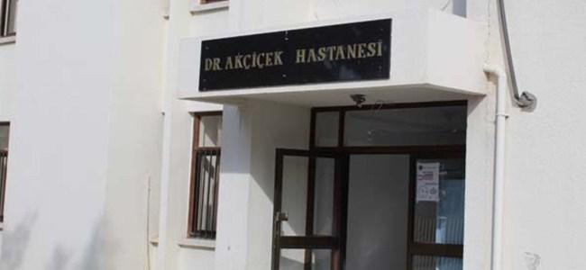 Akçiçek Hastanesi'nde eylem başladı