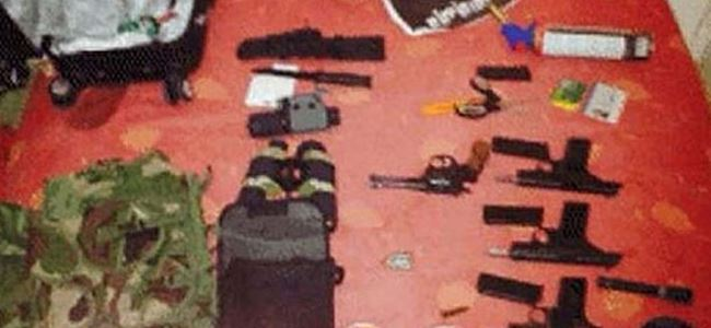 Süpermarket saldırganının cephaneliği ortaya çıktı