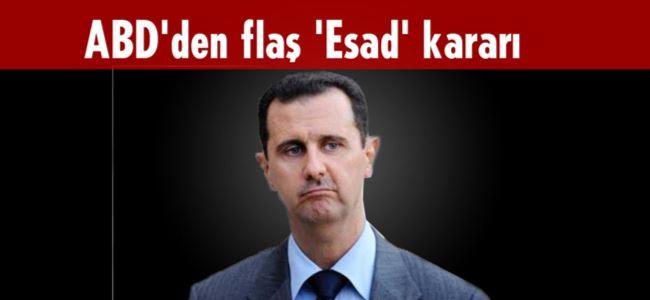 Çatışmalar donsun Esad şimdilik kalsın
