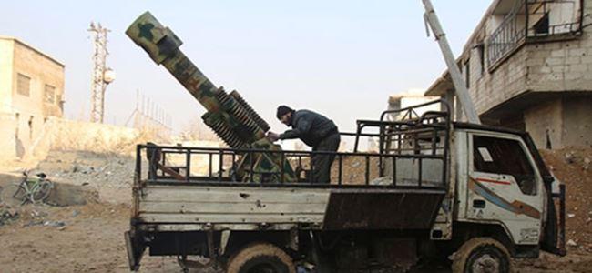 Şam'a roket yağmuru
