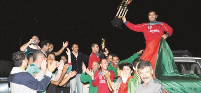 Ortaköy, zaferini kutladı