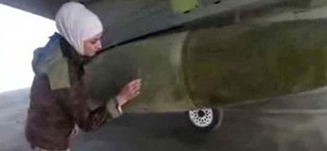 Ürdünlü pilot için bombaların üzerine intikam mesajı yazdılar