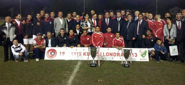 Londra'da kupa KTFF'nin: 2-0