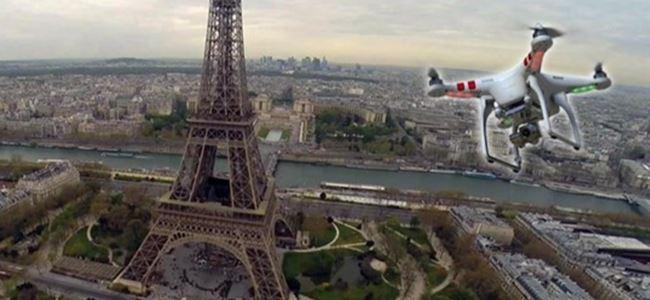 Paris'te insansız hava aracı endişesi