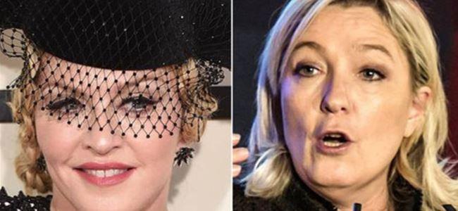 Aşırı sağcı lider Madonna'nın teklifini kabul etti
