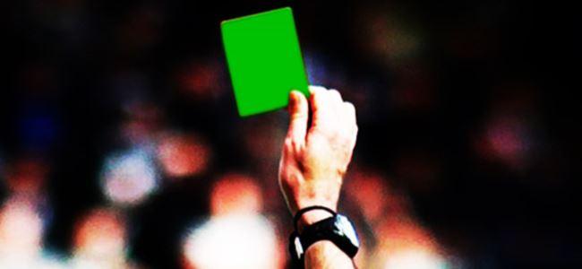 Futbolda yeşil kart devrimi!