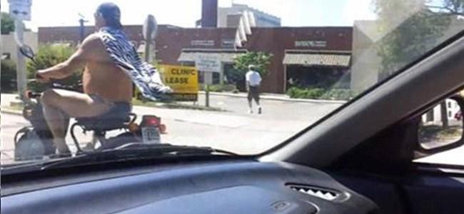 Tangalı Motosikletçiye Ceza Yok