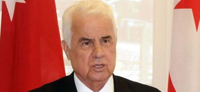Eroğlu: Güney Kıbrıs'ta Çözüm İradesi Eksikliği Var
