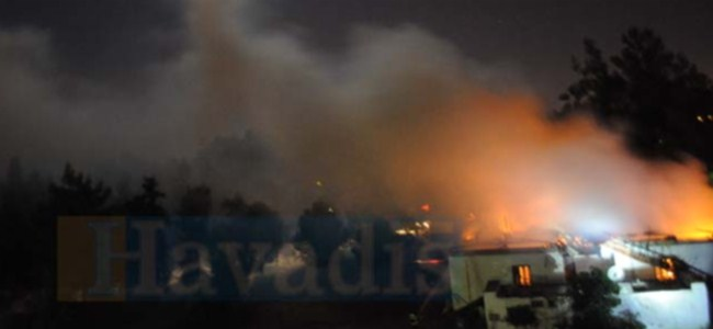 Ortaköy Alevler İçinde Kaldı