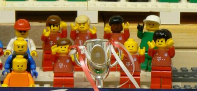 Şampiyonlar Ligi Finali Lego versiyonu