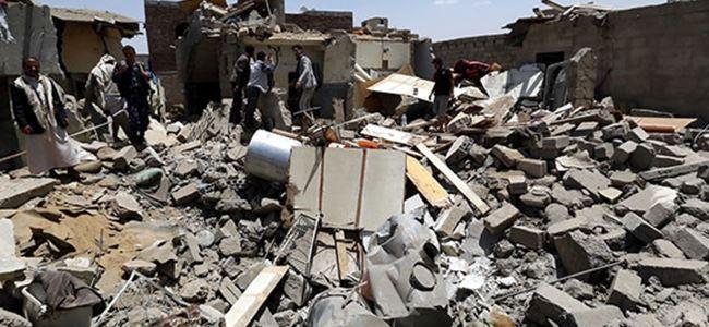 Yemen'de Rusya'nın konsolosluk binası yıkıldı