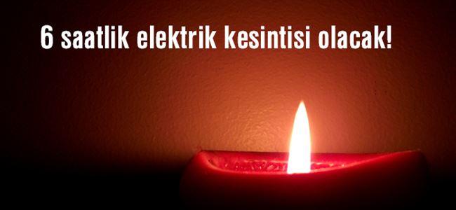 Photo of Dikkat elektrik kesintisi var!