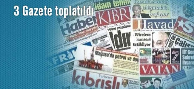 Seçim yasaklarını ihlal eden 3 gazete toplatıldı