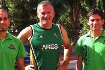Ares, Antalya'da yarı demir adam yarışında