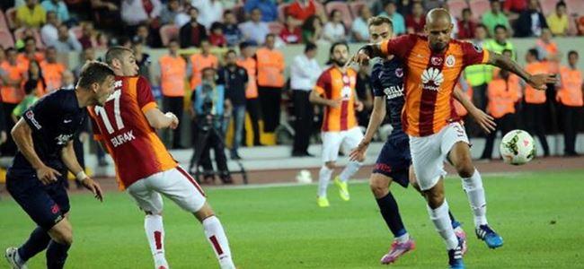 Galatasaray zirve aşkına: 0-1