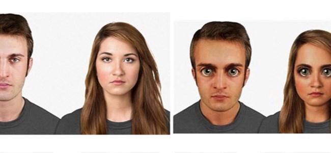 100 bin yıl sonra insan yüzü böyle olacak!