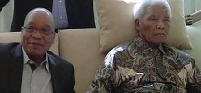 Ülkesi Mandela için dua ediyor