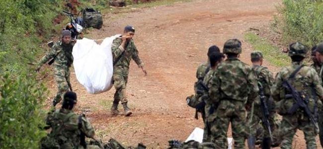 Kolombiya'da hükümet FARC'ı vurdu