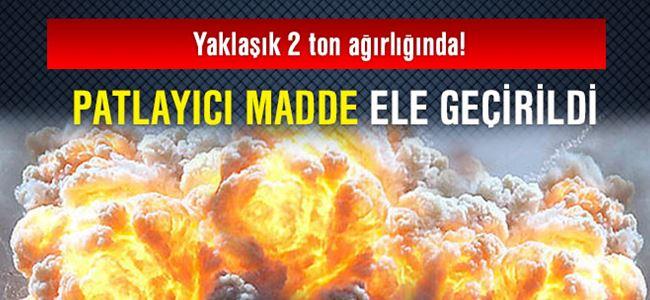Kıbrıs'ta Tonlarca Patlayıcı Ele Geçirildi