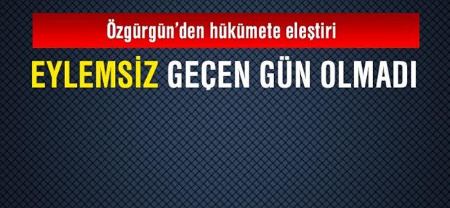 Özgürgün: UBP değişimin öncüsü olacak!