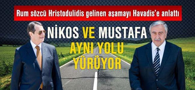 Nikos ve Mustafa aynı yolu yürüyor
