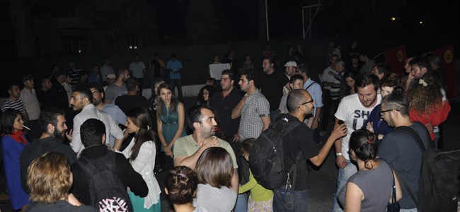 Taksim'e Kıbrıs'tan destek…
