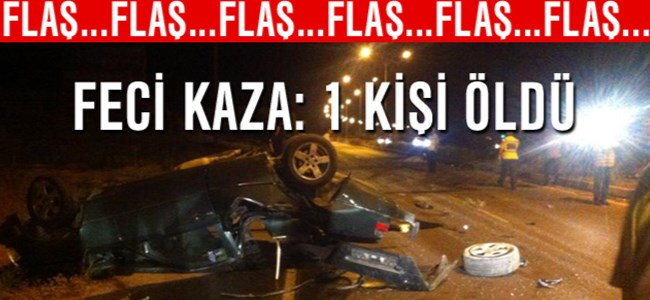 Lefkoşa-Girne Anayolu'nda feci kaza