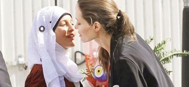 Angelina Jolie yarın Midyat'a gidiyor