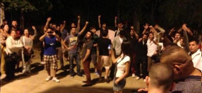 KKTC'den Taksim'e Destek!