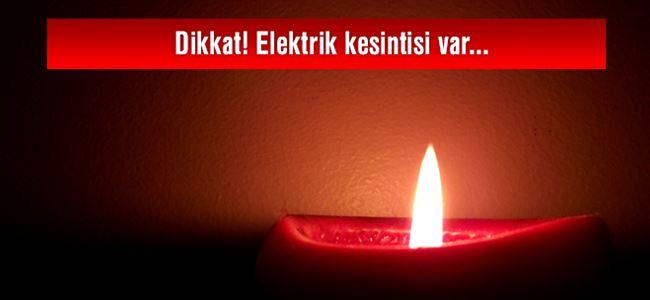 Photo of Dikkat! Elektrik kesintisi var…