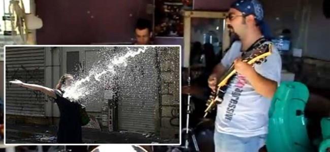 Kıbrıs'tan Taksim'e Destek Şarkısı