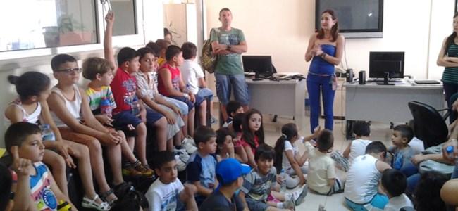 Artı Yaz Okulu minikleri Havadis'e konuk oldu