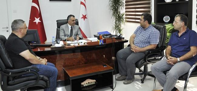 Eğitim Bakanı  İdris, DAÜ-SEN Heyetini Kabul Etti