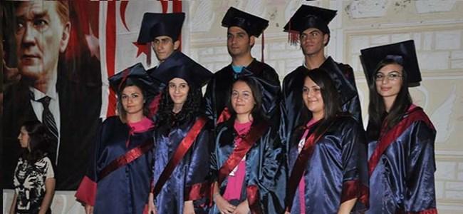Değirmenlik'te diploma coşkusu