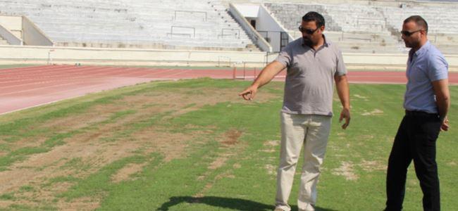 Atatürk Stadı yeni sezona hazır olacak