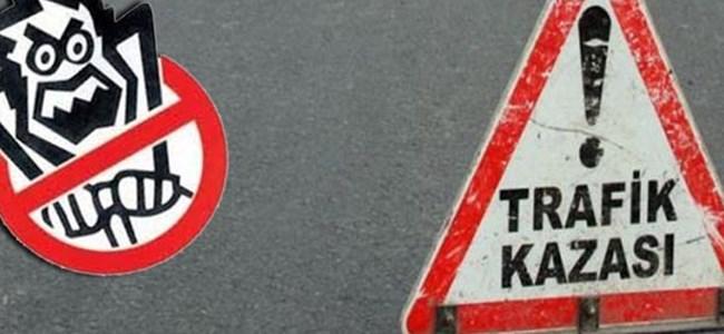 Bir Haftada 58 Trafik Kazası, 7 Yaralı