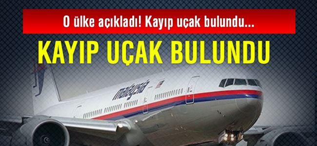 Kayıp uçak bulundu!
