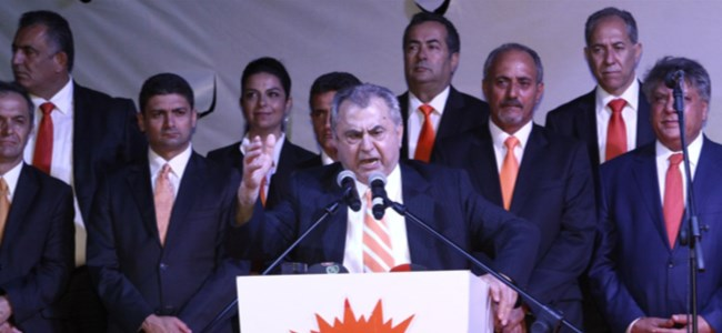 UBP, Milletvekili adaylarını tanıttı