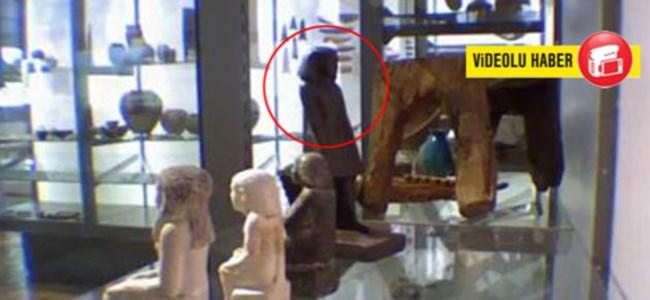 3800 yıllık heykel canlandı!